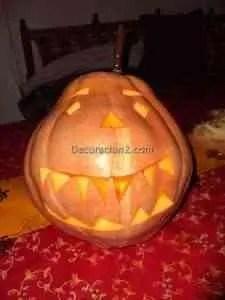calabaza5 decoracion2 com2 225x300 Una calabaza siniestra para Halloween