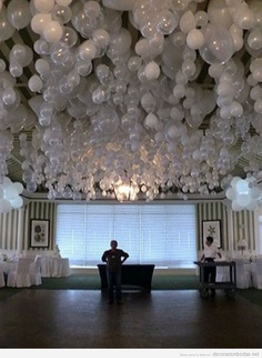 Decoracion De Salon Para Boda Con Globos - Novocom.top