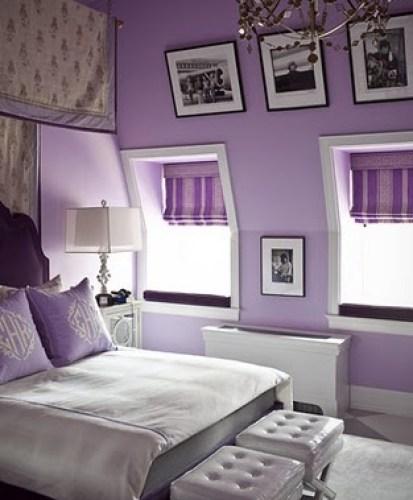 Dormitorios Con Acentos En Morado P�rpura Y Lila: 10 Dormitorios Para Chicas En Color Lila
