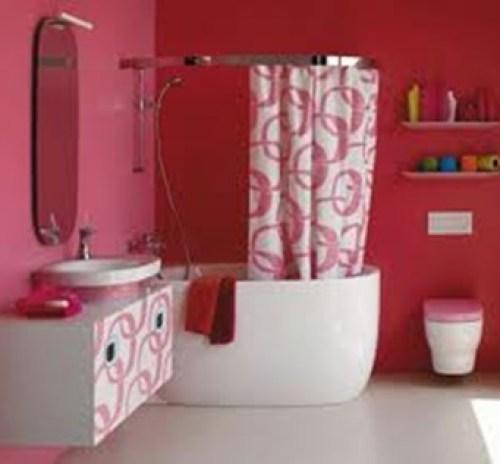 bathroom-fuchsia-white