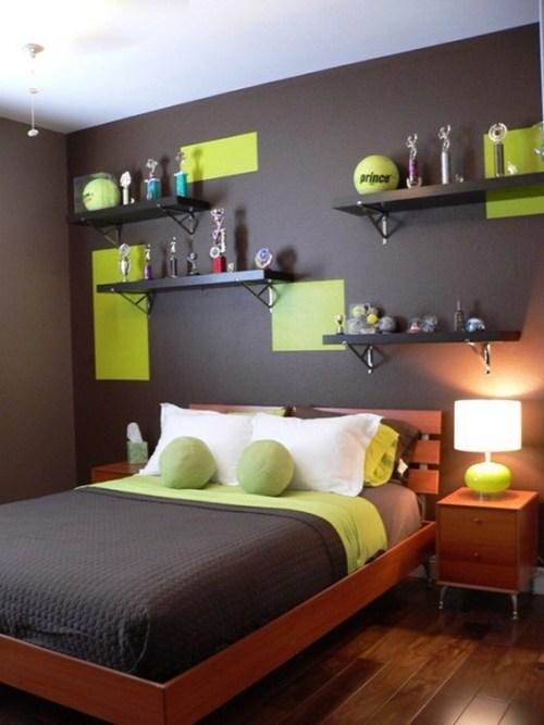 dormitorio-gris-verde