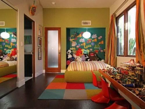 dormitorio-infantil-decorado-verde