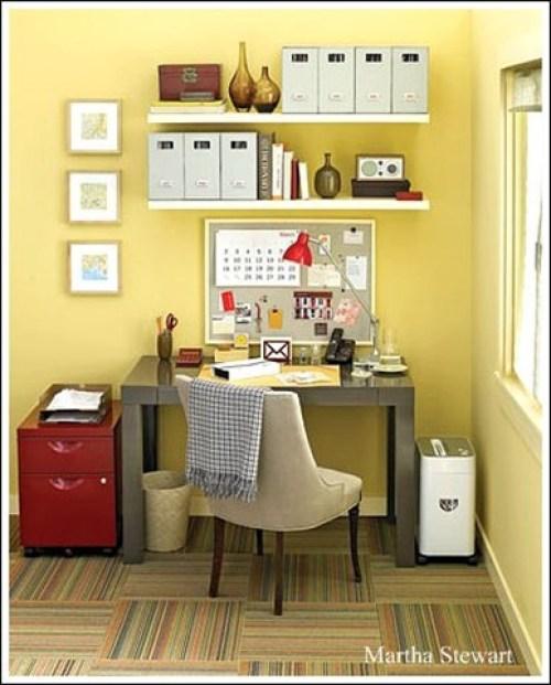 oficina color amarillo