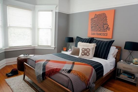 22 Estupendos Diseños de Dormitorios para Hombres