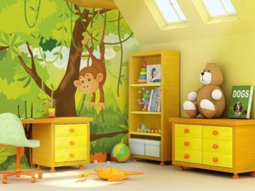 dormitorio -animales-decorar
