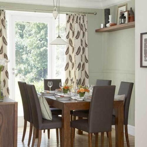 cortinas decorar comedor