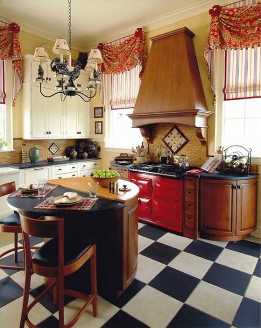 foto cortina cocina