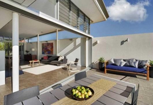 diseño casa vista al mar