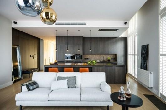 interior decoration of apartment