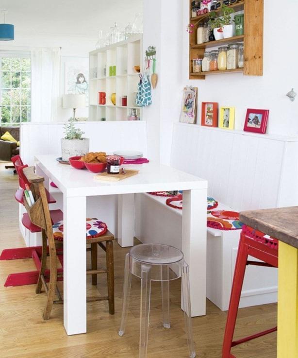 Small Dining Room Idea: 20 Estupendas Ideas De Comedores Pequeños Perfectos Para