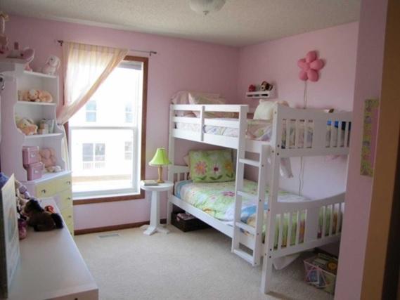 Magníficos Dormitorios Con Camas Literas Para Niñas