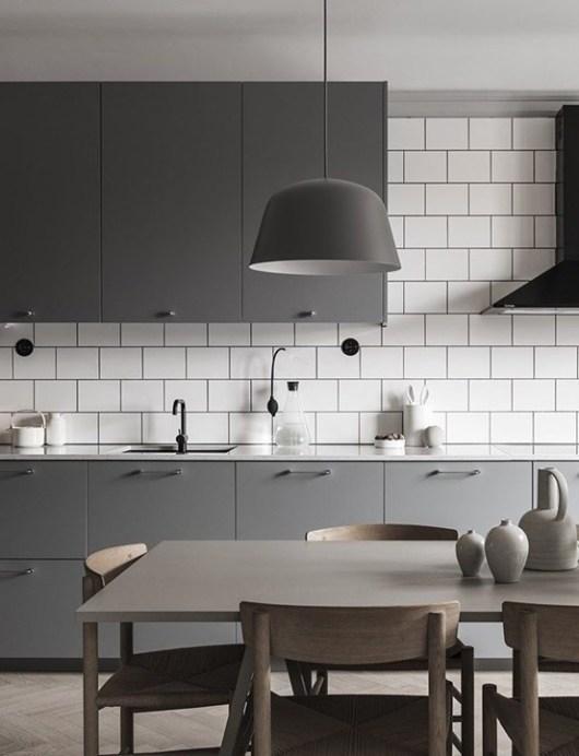 fotos de cocina blanca Estupendos Diseos De Cocinas Blancas Y Grises