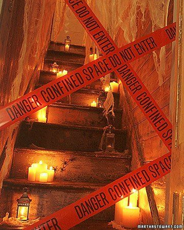Especial Halloween: Decorar escaleras para halloween