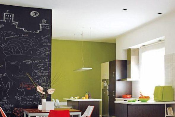 decorar paredes de la cocina