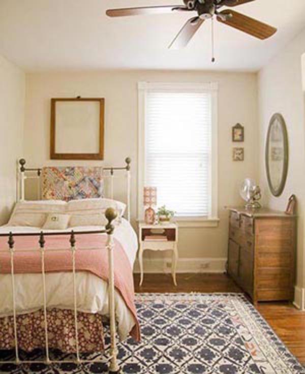 Cómo hacer un dormitorio vintage
