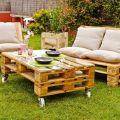 Muebles para el Jardon con Palets