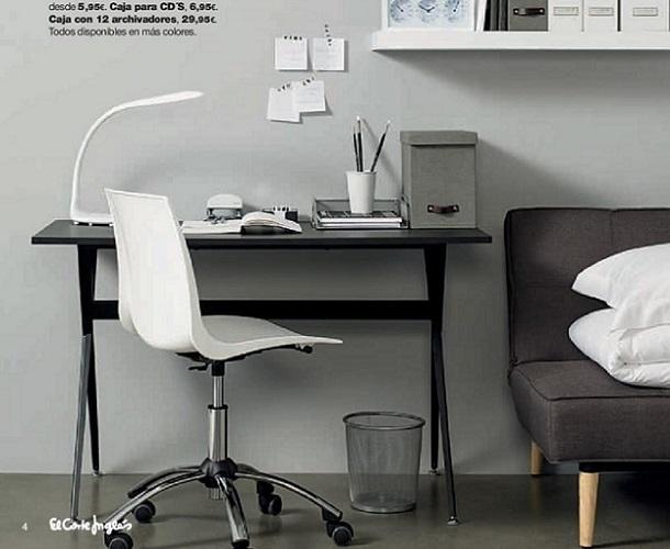 Cat logo oficina en casa en el corte ingl s espacios for Fuera de oficina en ingles