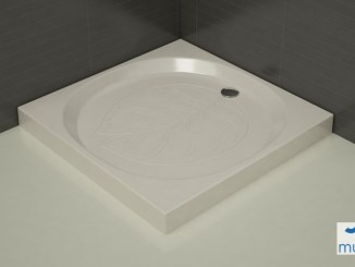 Plato de Ducha de Ceramica