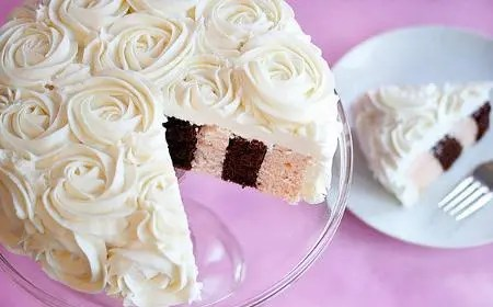 decorado de tortas con crema