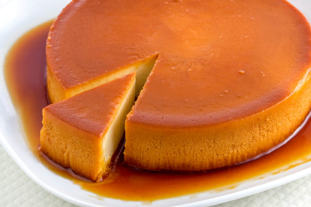 torta de pan tipo quesillo
