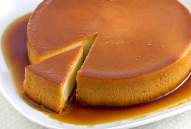 torta de pan tipo quesillo