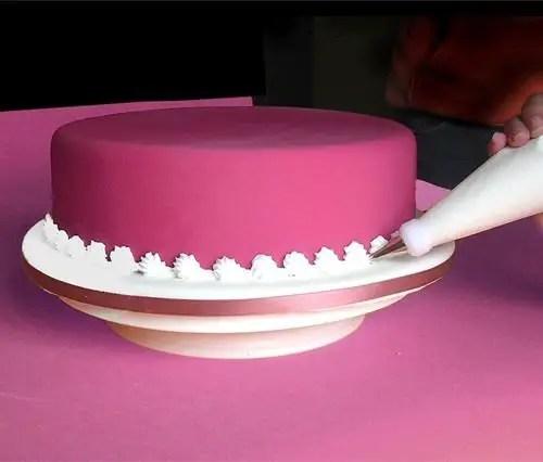 como hacer crema para torta