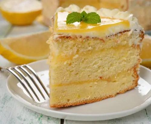 como hacer bizcocho de limon