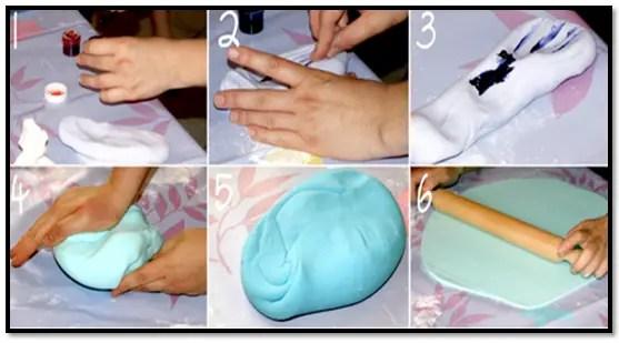 Como Colorear Pasta Ballina Casera