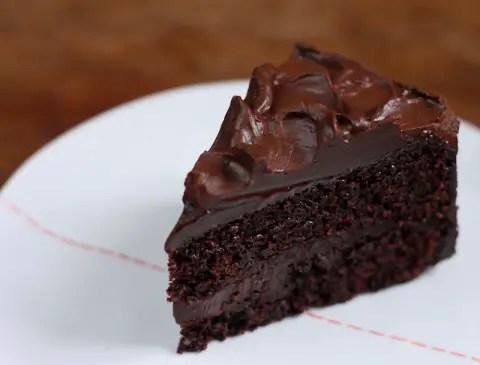 como hacer una tarta de chocolate facil y rápida