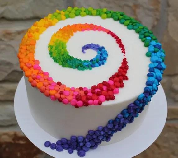 tortas de cumpleaños faciles de decorar