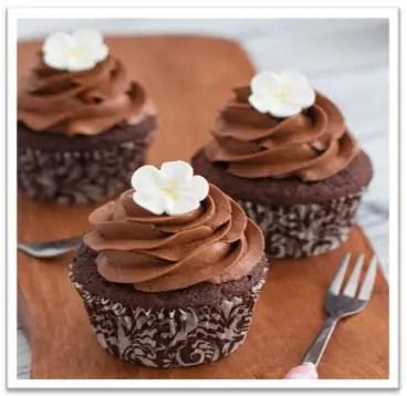 Cupcakes De Chocolate Receta Facil