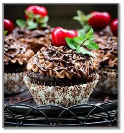 Cupcakes De Chocolate Con Aceite
