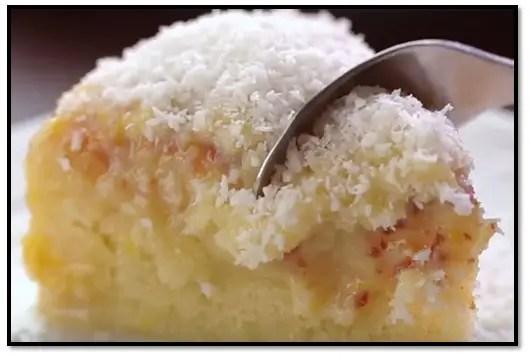 Torta De Coco Esponjosa