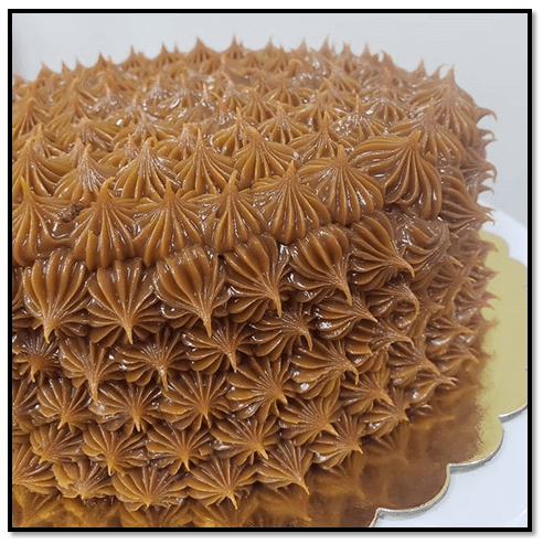 Torta De Arequipe Fría