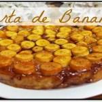 Receta De Torta De Banana Caramelizada Invertida