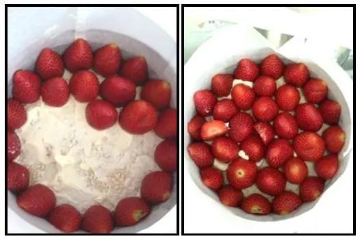 Como se hace la torta fraisier