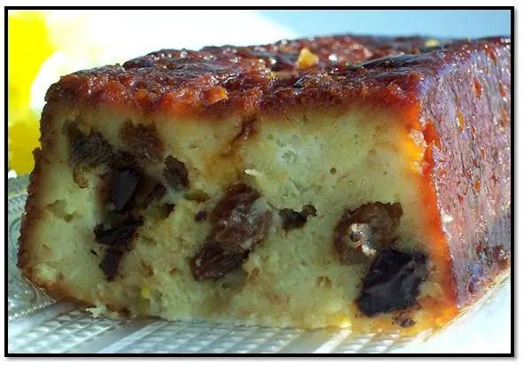torta burrera de pan