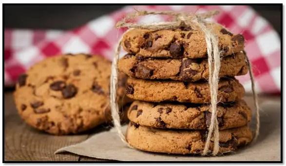 como hacer galletas con chispas de chocolate