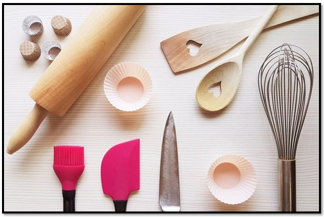herramientas de repostería