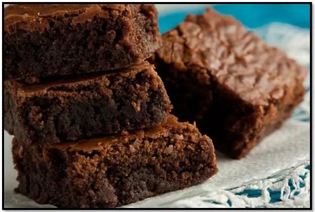 receta de brownie con aceite