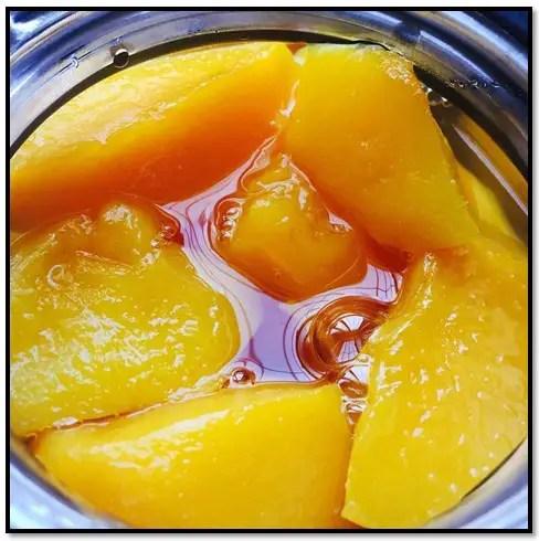 como hacer dulce de durazno