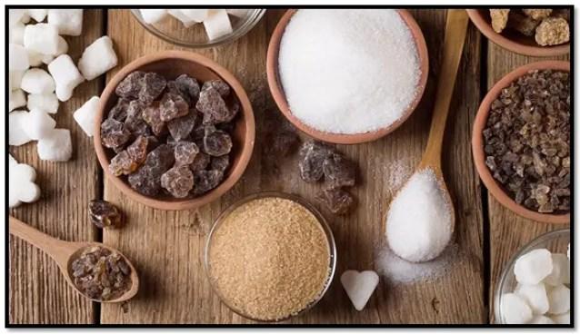 tipos de azúcar en repostería