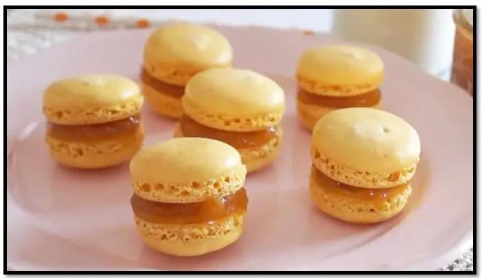 receta de macarons con harina común