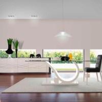 7 Mesas modernas de cristal protagonistas del comedor