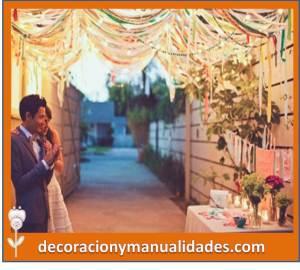 decoracion ideal para boda sencilla