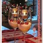 Decoración romántica navideña