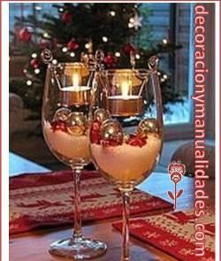 decoracion navideña romantica
