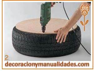 mueble de material reciclable