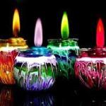 Manualidad y decoración con velas