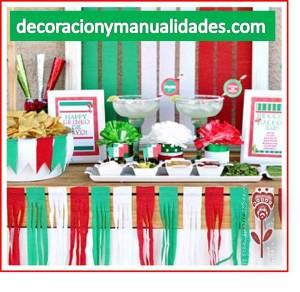 decoracion de mesa mexicana